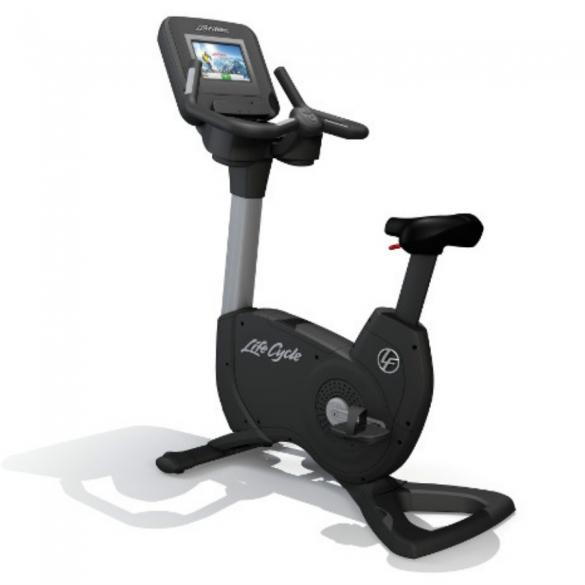 Life Fitness Discover SI Upright Bike-Bikes & Cycles-NEW AND USED GYM EQUIPMENT/ GYMS DIRECT USA