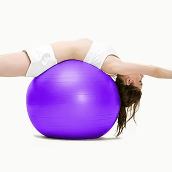 Yoga Ball Gym 55cm-NEW AND USED GYM EQUIPMENT/ GYMS DIRECT USA