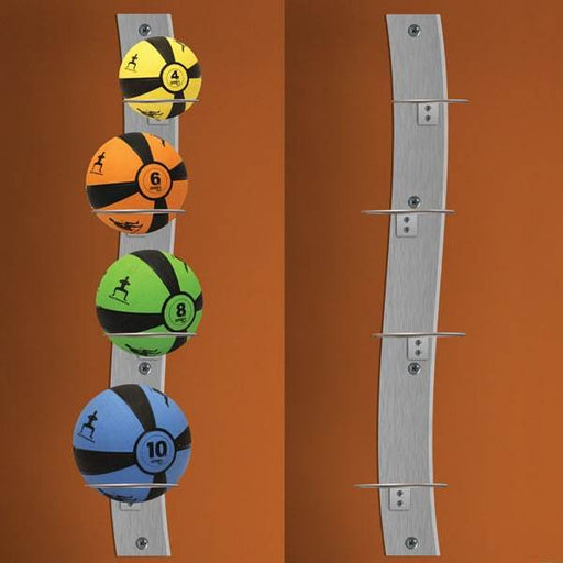 Smart Wall Mounted Medicine Ball Rack By Prism Fitness