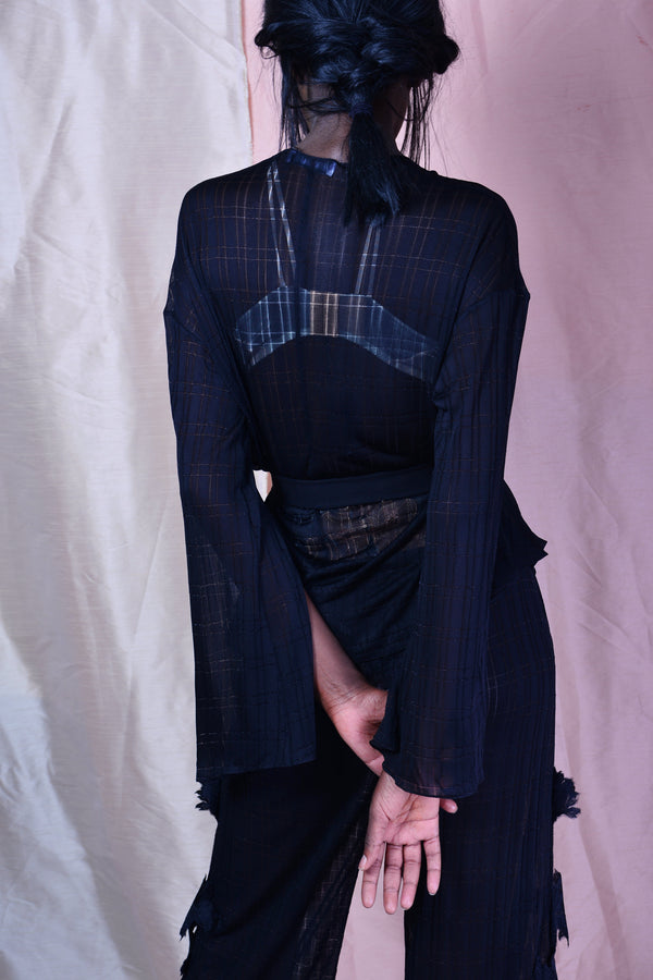 Aimee Studio // Belted Night Jacket - Studio asanawa
