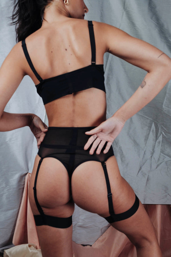 Opaak // Laura High Waisted Thong - Studio asanawa