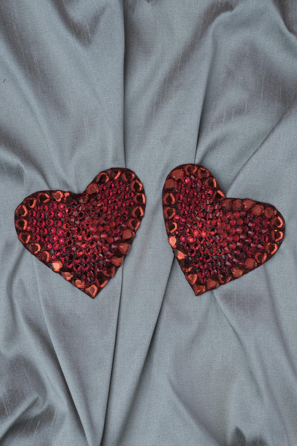 Ruth Melbourne // Ruby Red Swarovski Crystal Pasties - Studio asanawa
