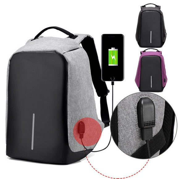 Original USB Charging Anti-Theft Backpack - Wondearthful