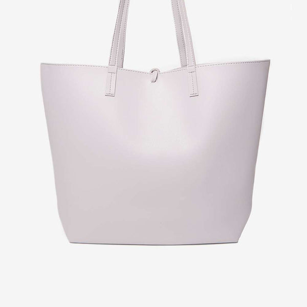 Womens Mauve Shopper Bag- Purple