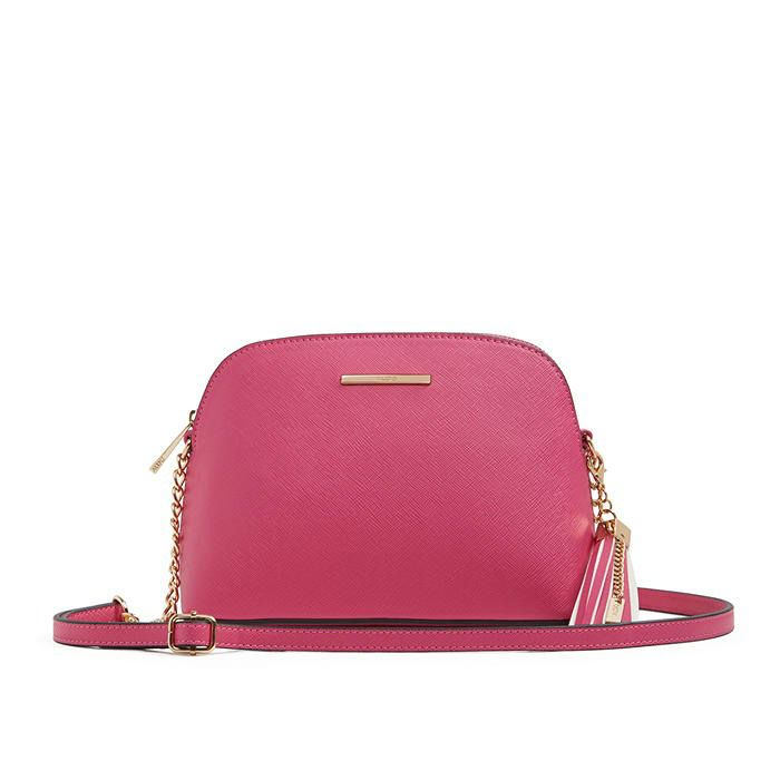 Aldo Elroodie Cross-Body Bag- Fuchsia