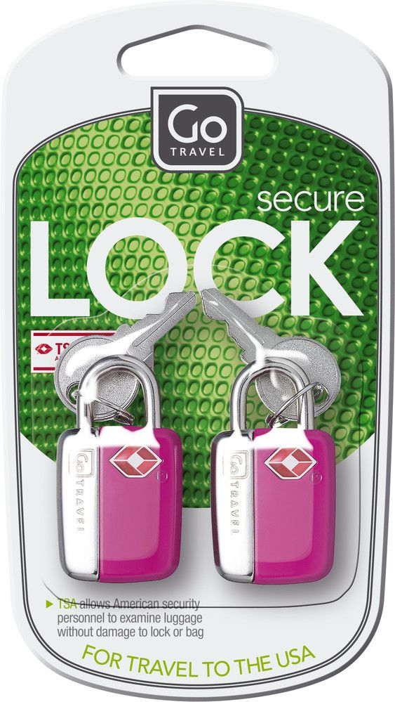 Go Travel Mini glo travel sentry padlocks- assorted colours