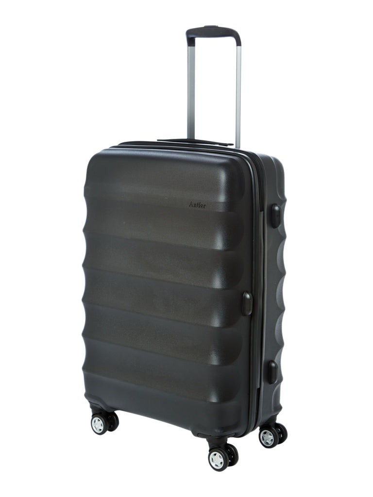 Antler Juno medium black roller suitcase- Black