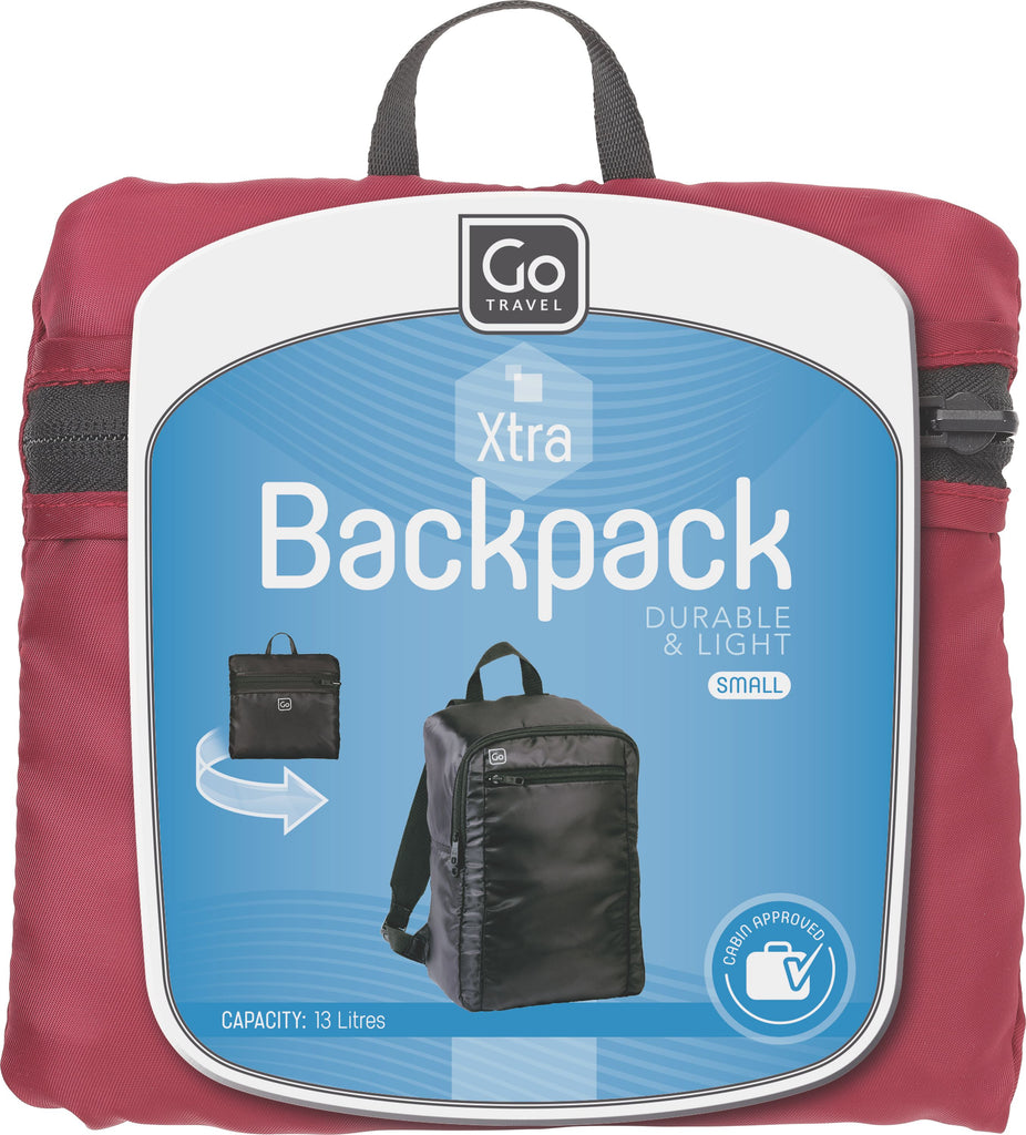Go Travel Small back pack- assorted colours