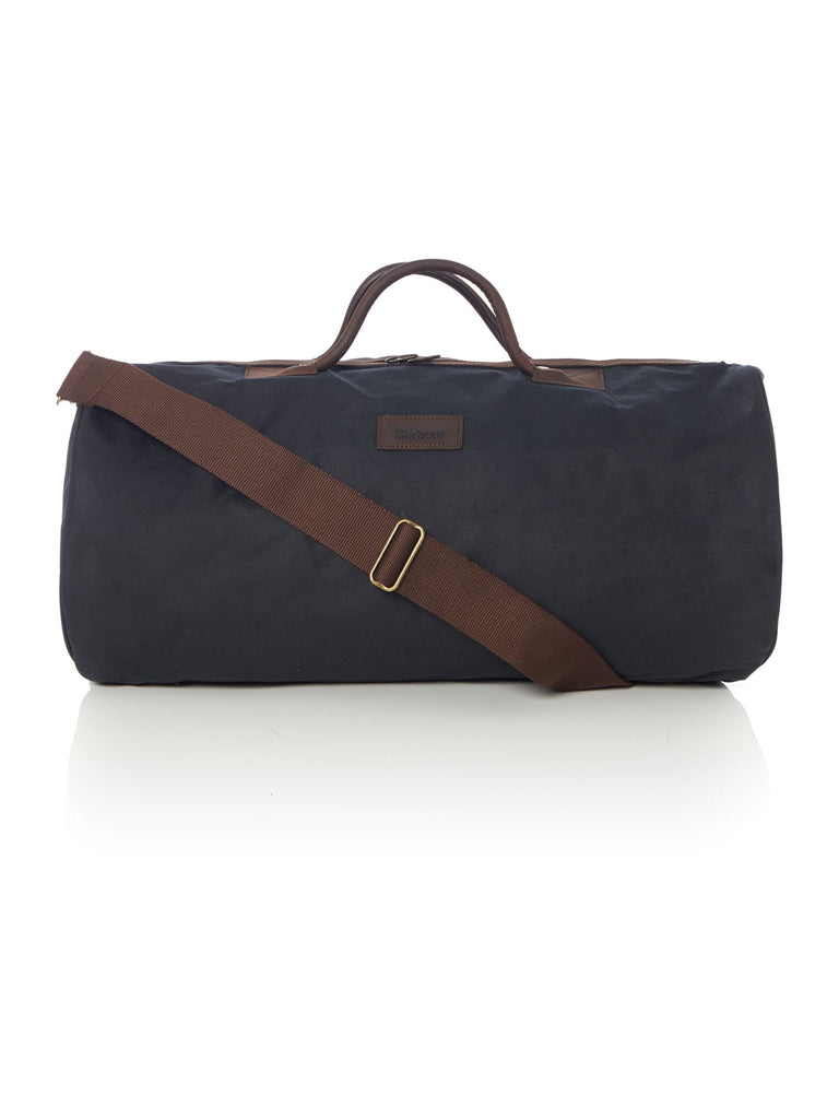 Barbour Wax holdall bag- Blue