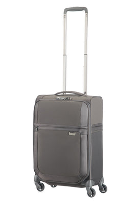 Samsonite Uplite Grey 4 Wheel 55cm Cabin Suitcase- Grey