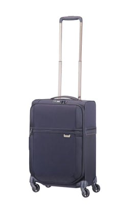 Samsonite Uplite navy 4 wheel 55cm cabin suitcase- Blue