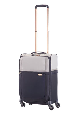Samsonite Uplite pearl & navy 4 wheel 55cm cabin suitcase- Multi-Coloured