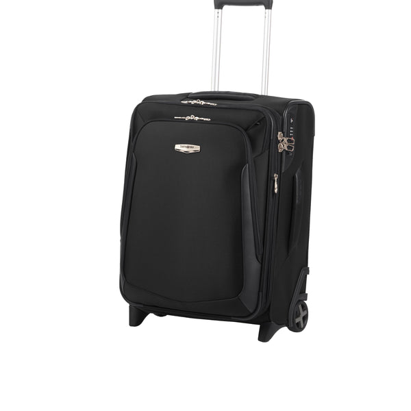 Samsonite X-Blade 3.0 Black 2 Wheel 55cm Expandable Cabin- Black