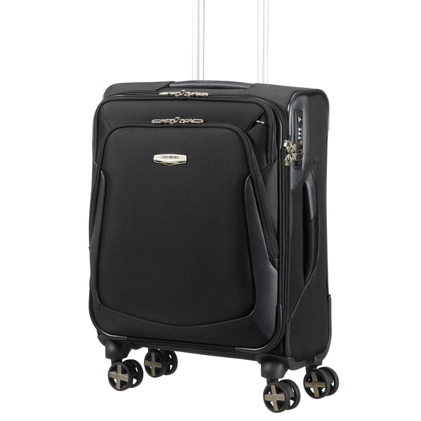 Samsonite X-Blade 3.0 Black 8 Wheel 55cm Cabin Suitcase- Black