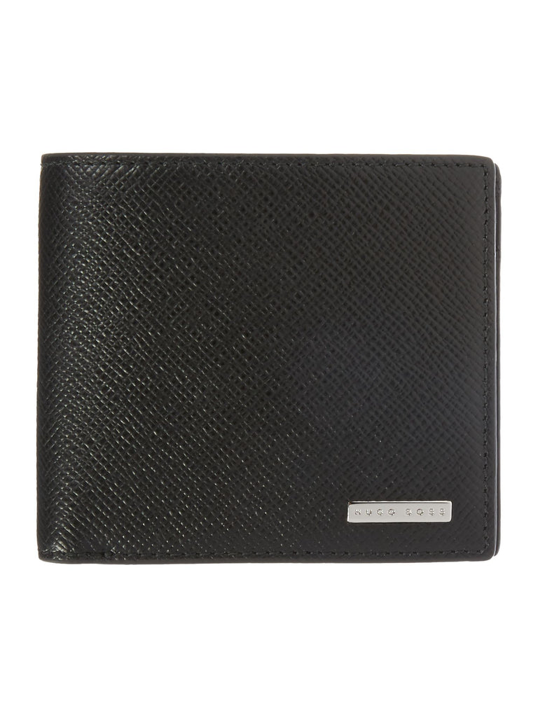 Hugo Boss Signature Card Holder- Black