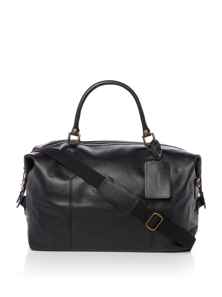 Barbour Leather Travel Explorer- Black