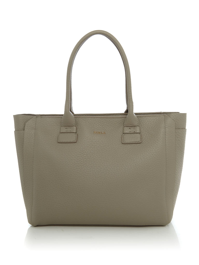 Furla Capriccio Medium Tote- Neutral