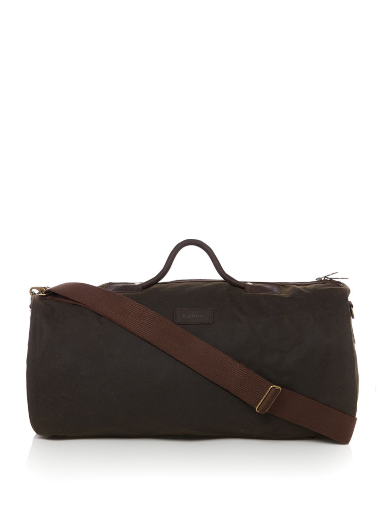 Barbour Waxed Holdall- Olive