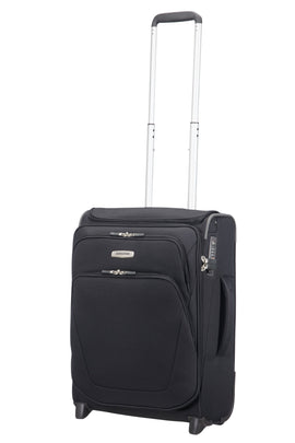 Samsonite Spark Black 2 Wheel 55cm Upright Cabin- Black