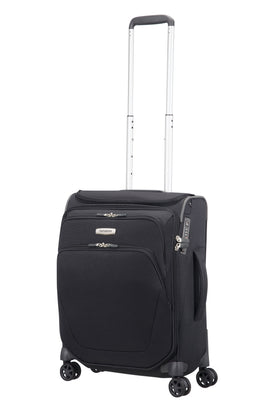 Samsonite Spark Black 4 Wheel Cabin Spinner- Black