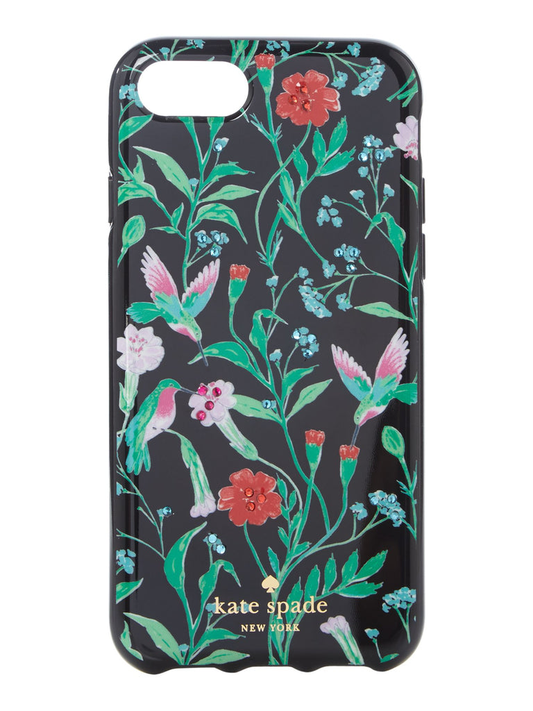 Kate Spade New York Jeweled jardin iPhone 7 cover- Multi-Coloured
