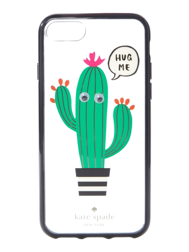 Kate Spade New York Hug me iPhone 7 cover- Multi-Coloured