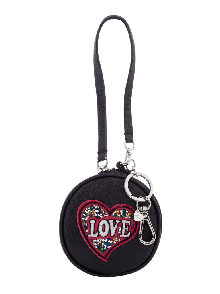 Guess Mix match pouch keychain- Black