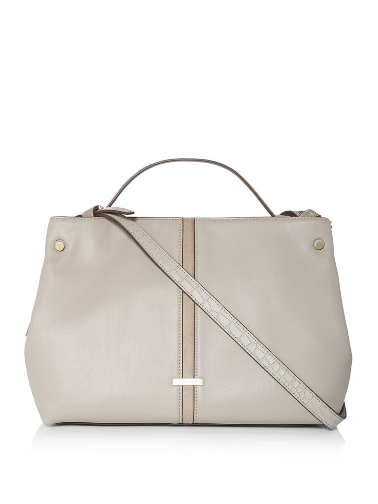 Calvin Klein Dani neutral duffle bag- Neutral