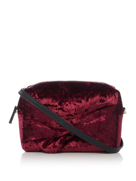 Therapy Bow crossbody- Purple