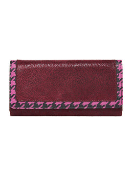 Therapy Sierra houndstooth purse- Red