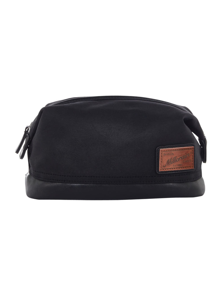 Criminal Millerain Fabric Washbag- Black