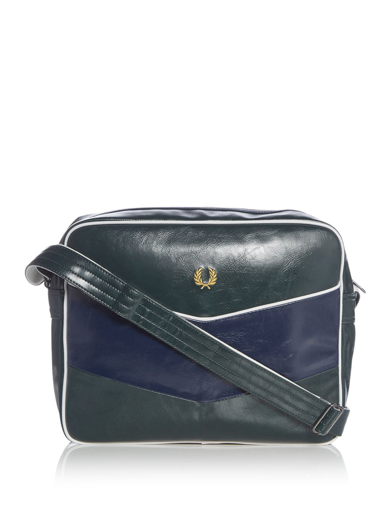 Fred Perry Chevron Shoulder Bag- Green