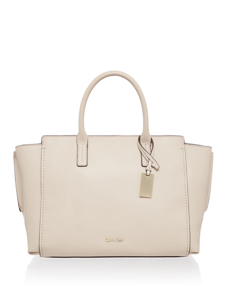 Calvin Klein Chrissy tote bag- Neutral