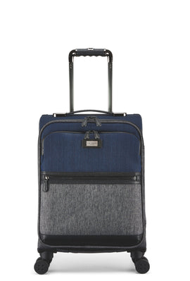 Ted Baker Brunswick Grey Blue 4 Wheel Soft Cabin- Grey