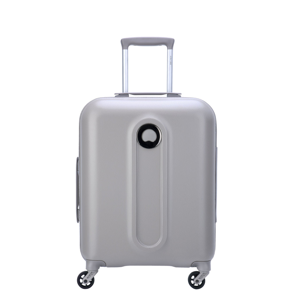 Delsey Helium Classic 55cm Beige Cabin Suitcase- White