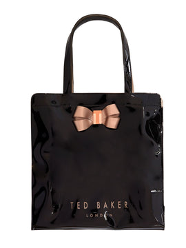 Ted Baker Vallcon bow detail large bowcon tote bag- Black
