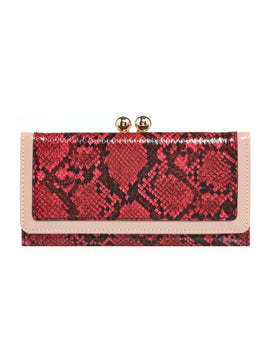 Therapy Sierra Frame Purse- Pink