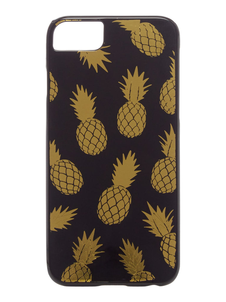 Biba Pineapple foil phone- Black