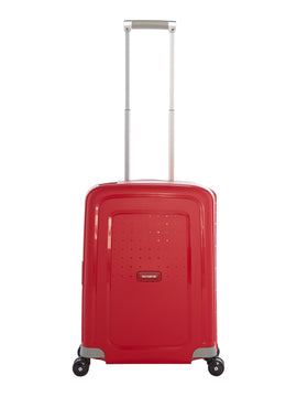 Samsonite S`cure Spinner 55cm Cabin Red- Red