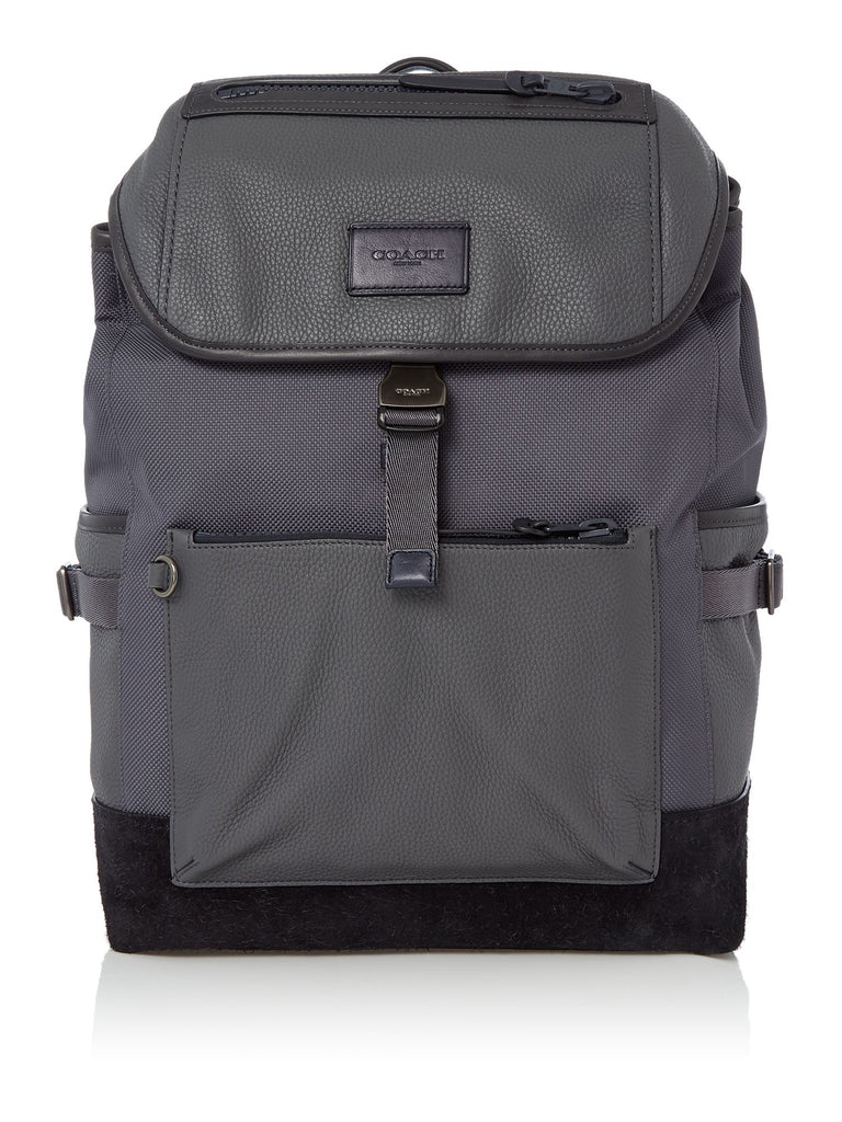 Coach Manhattan Backpack- Charcoal