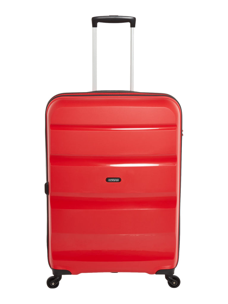 American Tourister Bon Air 75cm Large Red Suitcase- Red
