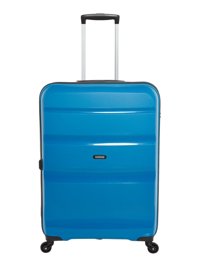 American Tourister Bon Air 75cm Large Blue Suitcase- Blue