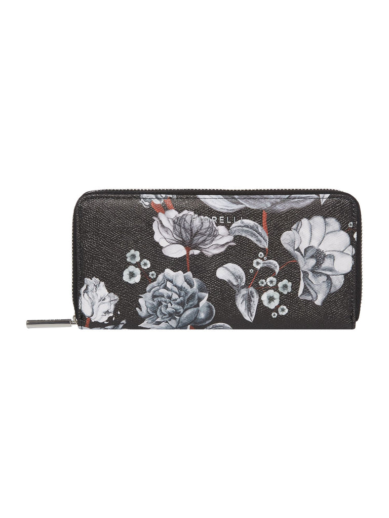 Fiorelli City Ziparound Purse- Black Multi