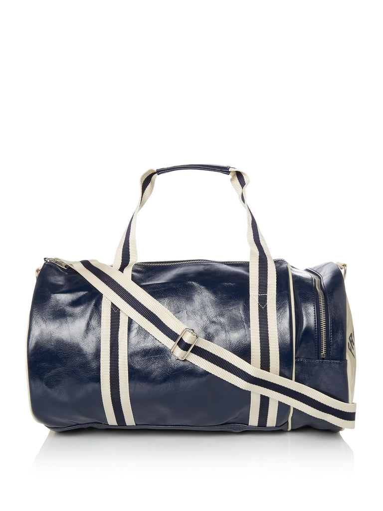 Fred Perry Classic Barrel Bag- Blue