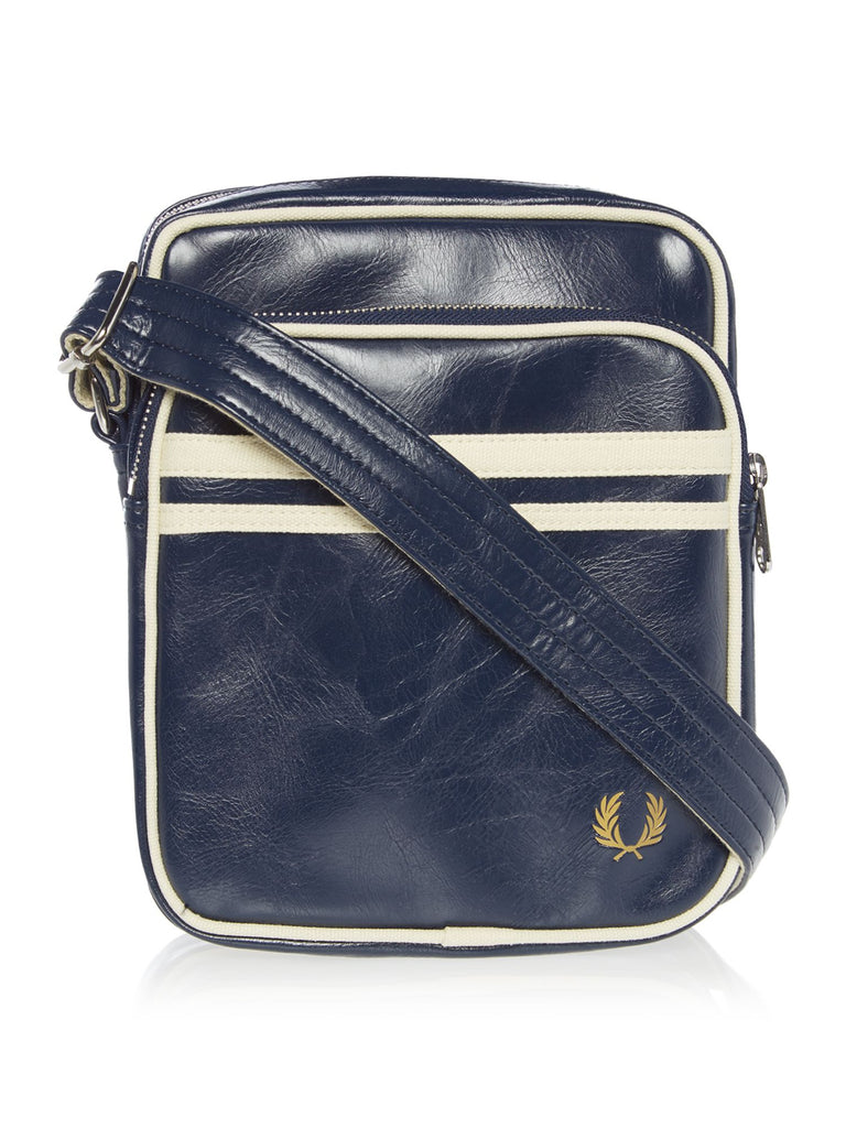 Fred Perry Classic Side Bag- Blue