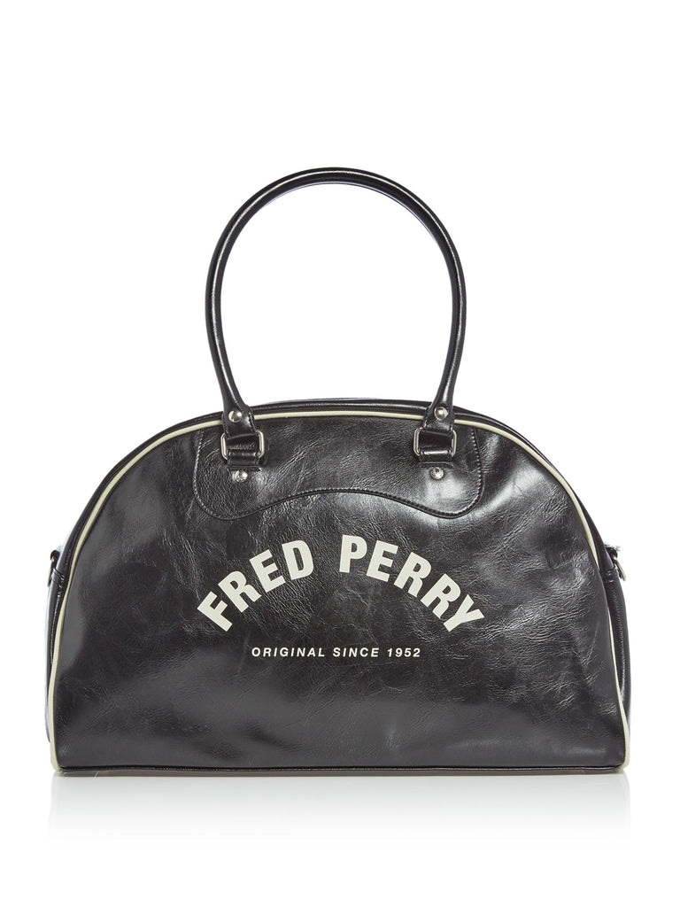 Fred Perry Classic Grip Holdall Bag- Black
