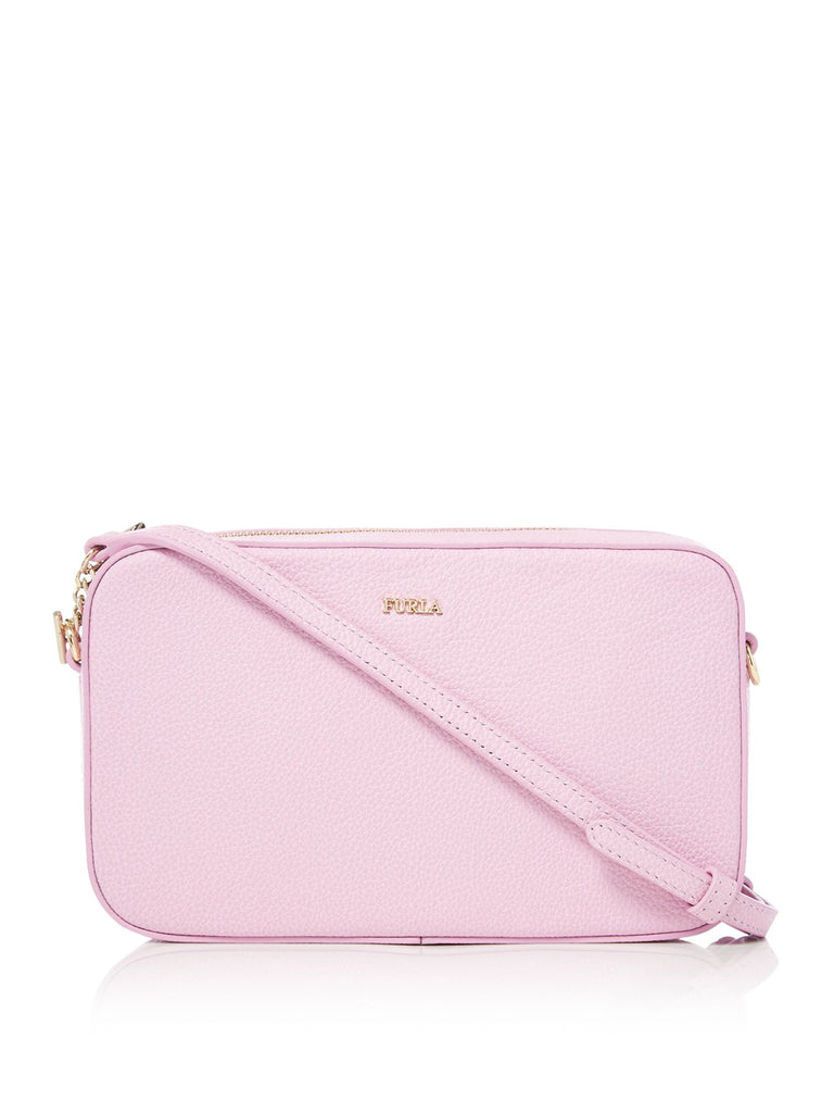 Furla Incanto Medium Cross Body Pouch- Light Pink
