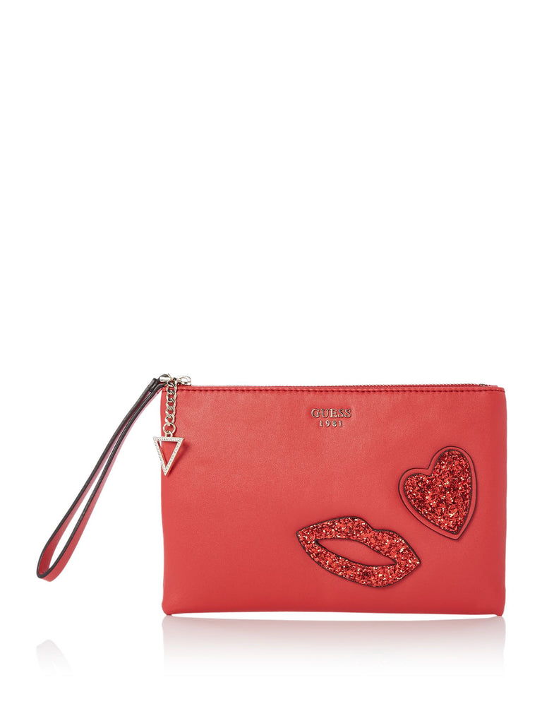 Guess Ever after clutch bag- Red