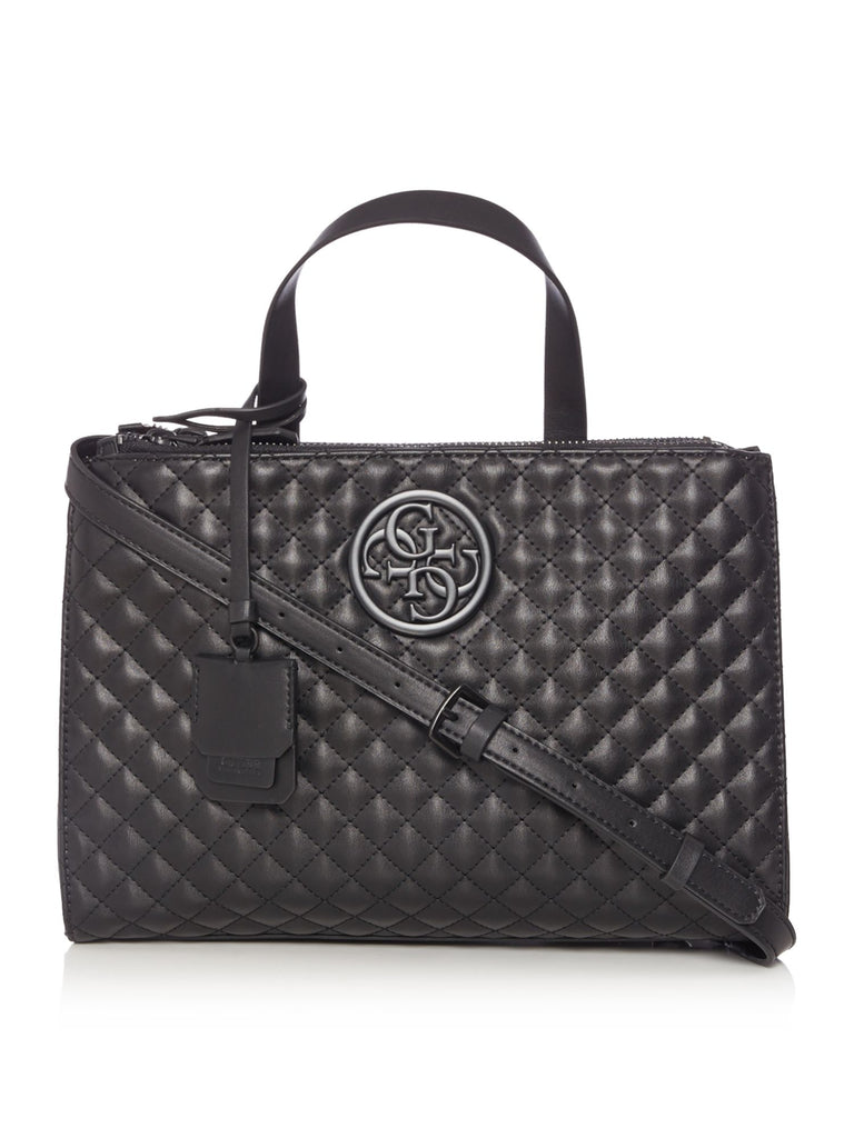 Guess G lux status satchel bag- Black