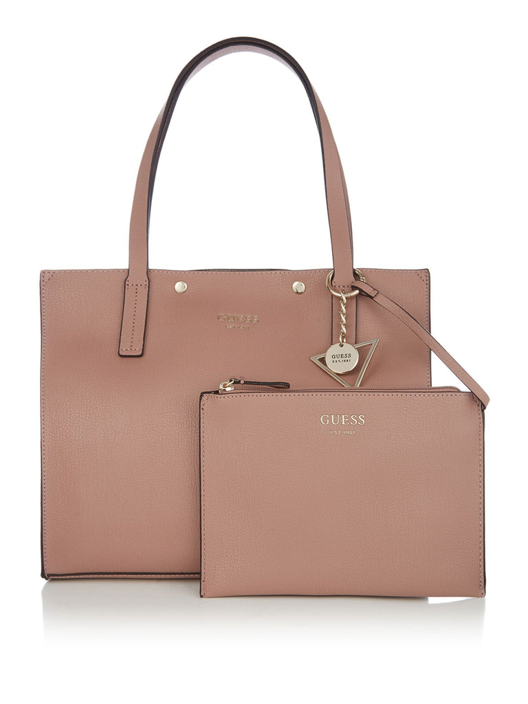 Guess Kinley carryall tote bag- Neutral